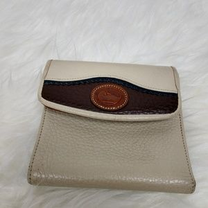 Vintage Dooney Bourke Teton Wallet Credit Card